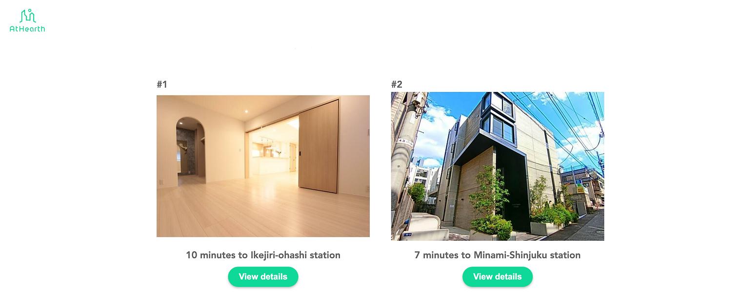 1.Choose listings