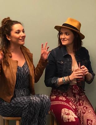 Christine Dwyer and Laurel Harris