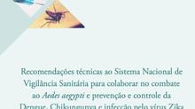 Anvisa lança cartilha com recomendações para o combate ao Aedes aegypti