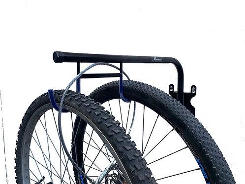 Soporte Rebatible 2 Bicicletas con Seguridad
