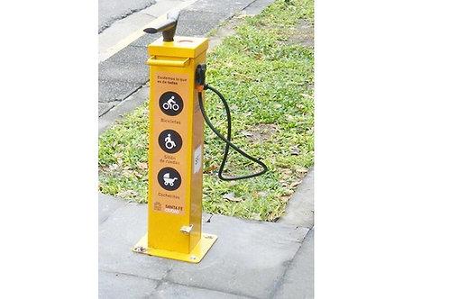 Bicicletas: Inflador Manual de Uso Publico