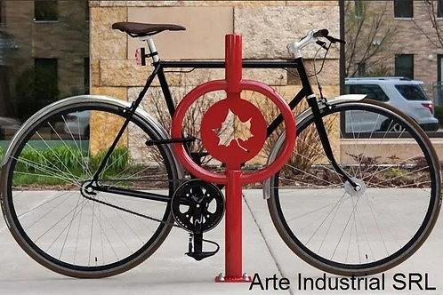 Puesto estacionamiento para bicicletas