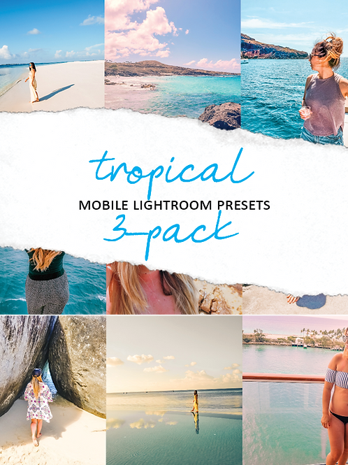 HMG  Tropical Mobile Presets - 3 Pack