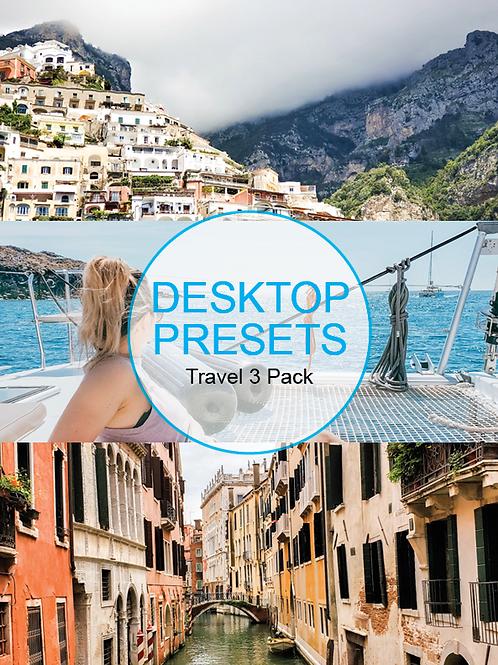 Desktop - Travel Presets 3 Pack Volume 1
