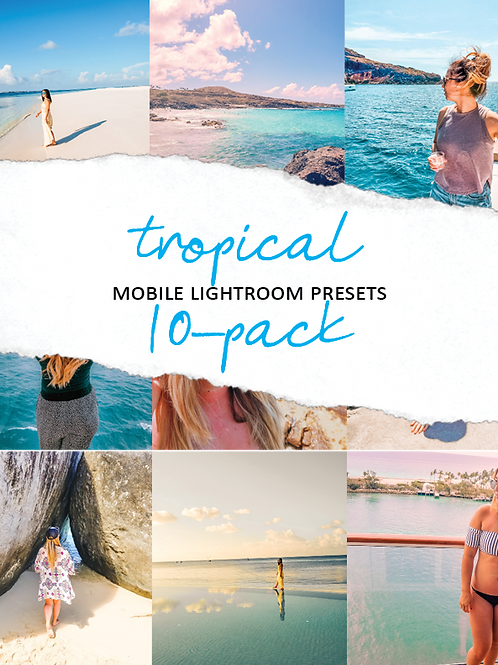 HMG  Tropical Mobile Presets - 10 Pack