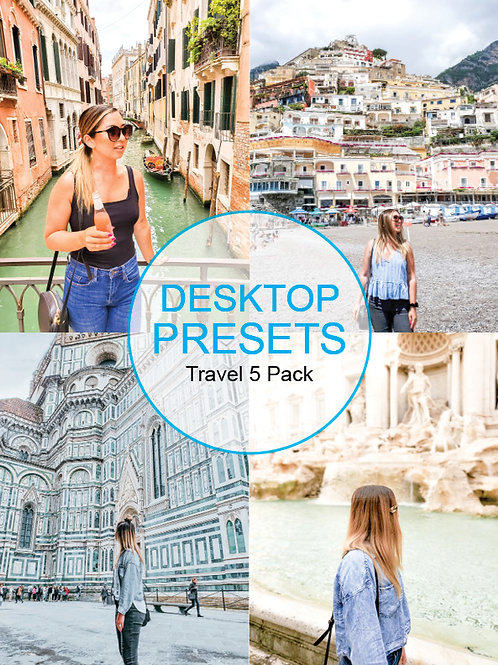 Desktop - Travel Presets 5 Pack Volume 1