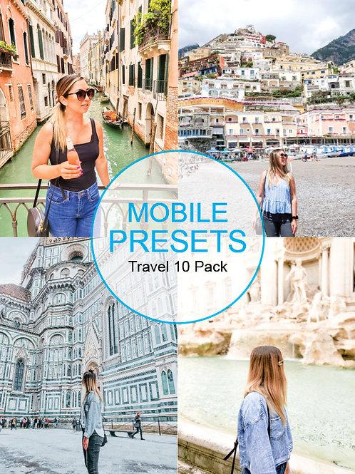 HMG  Travel Mobile Presets Volume 1-10 Pack