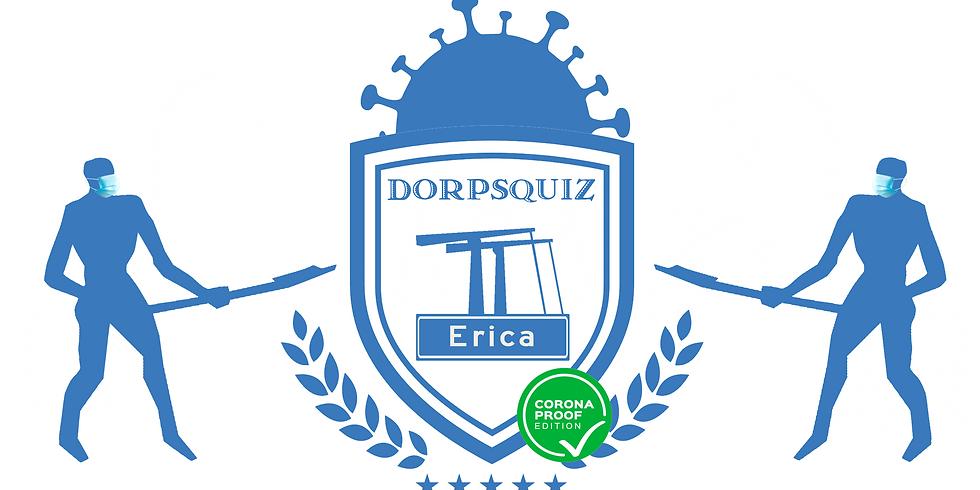 Doprsquiz Erica - coronaproof editie