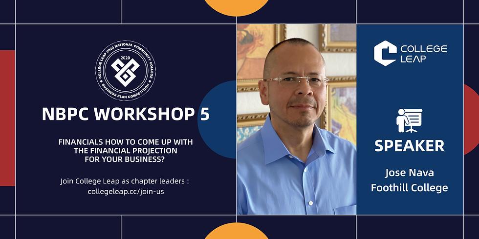 NBPC Workshop 5: Financials