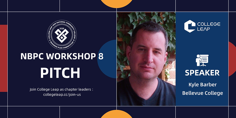 NBPC Workshop 8: Pitch