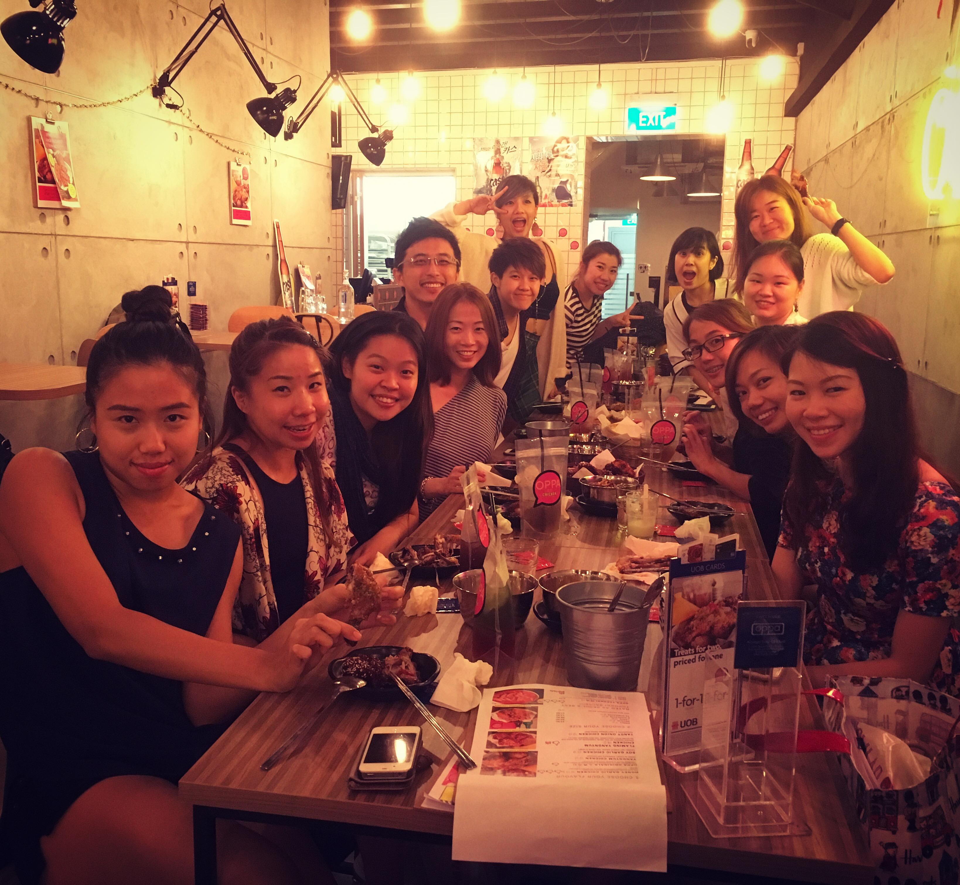 Annual Company dinner 2015