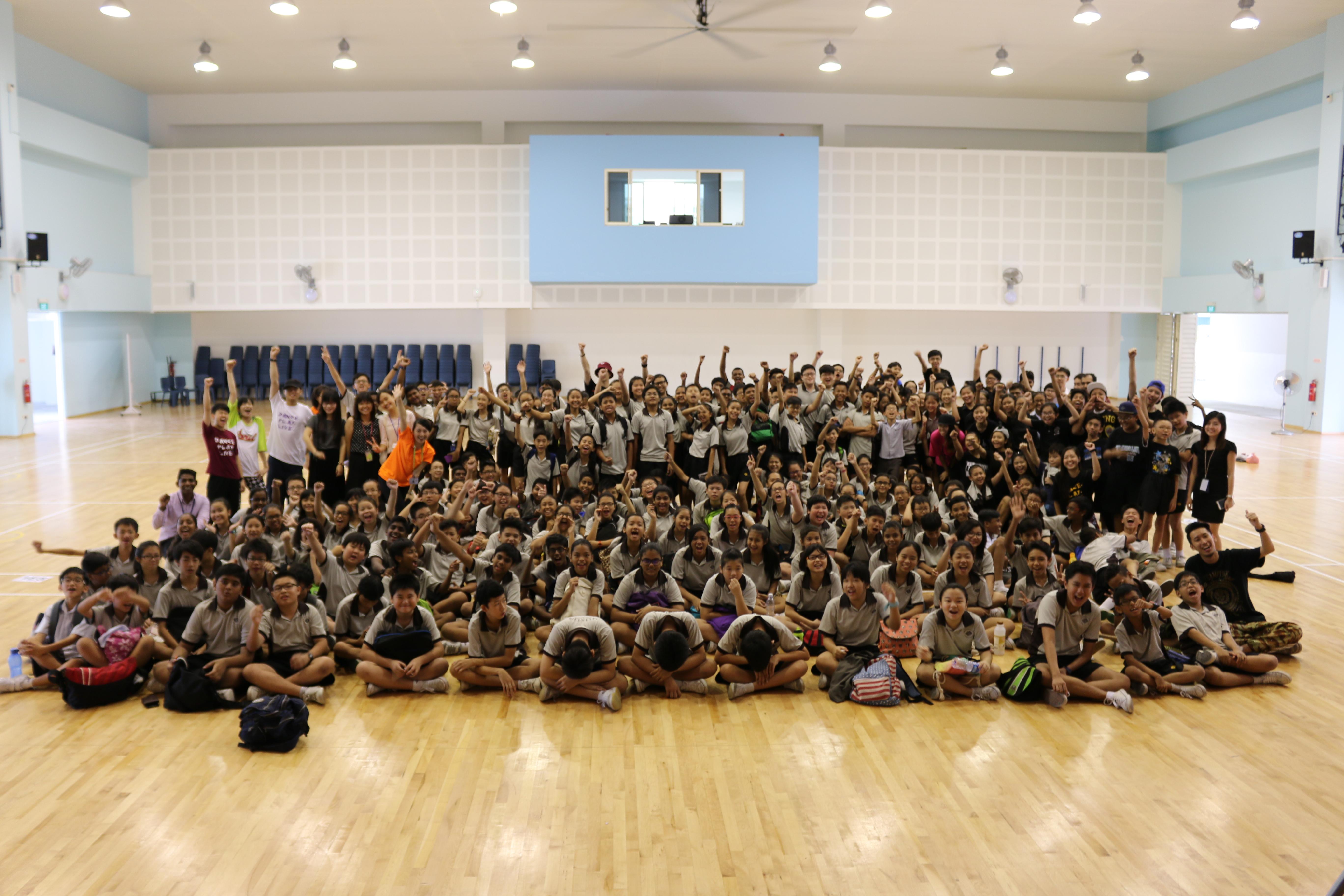 YuHua Secondary School Mass Dance