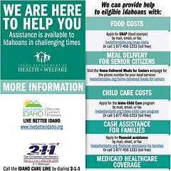 Idaho Assistance Resources