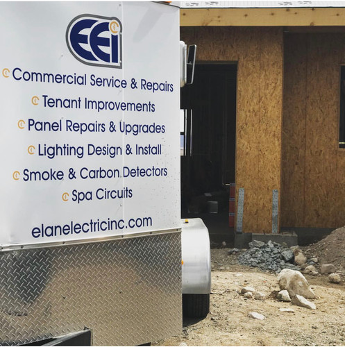 Elan Electric Inc completing new construction