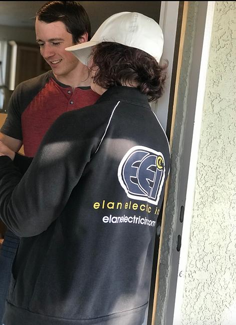 Elan Electric Inc service call