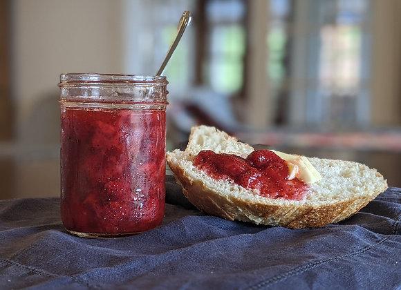 Confiture de fraises sans cuisson 250ml