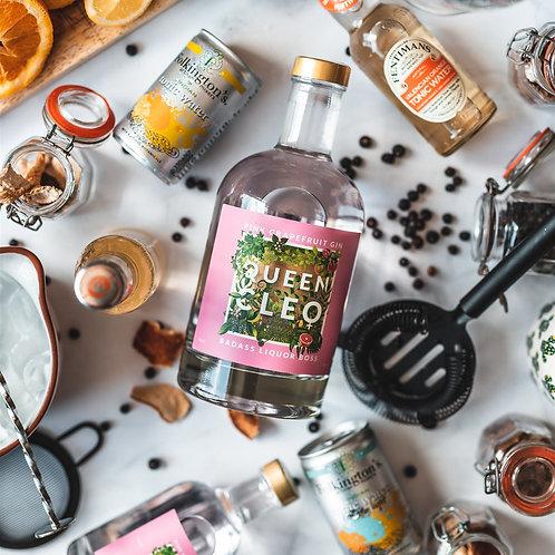 Queen Cleo Pink Grapefruit Gin - 70cl Bottle