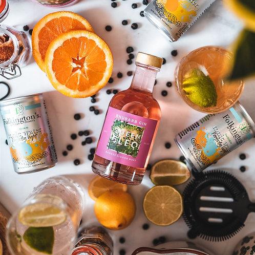 Queen Cleo Rhubarb Gin - 20cl Bottle