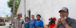 Visiting grandparents of Jose Antonio Elena Rodriguez who was shot and killed by Border Pa