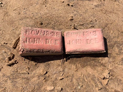 Unknown markers for migrants in Holtville, CA