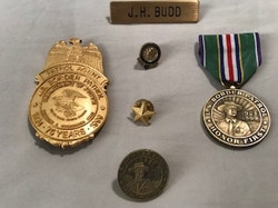 Badge and medals