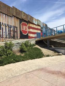Wall at Friendship Park in Playas Tijuana