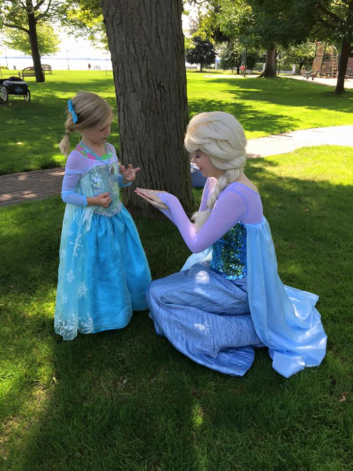 A role model, and a pretty princess!