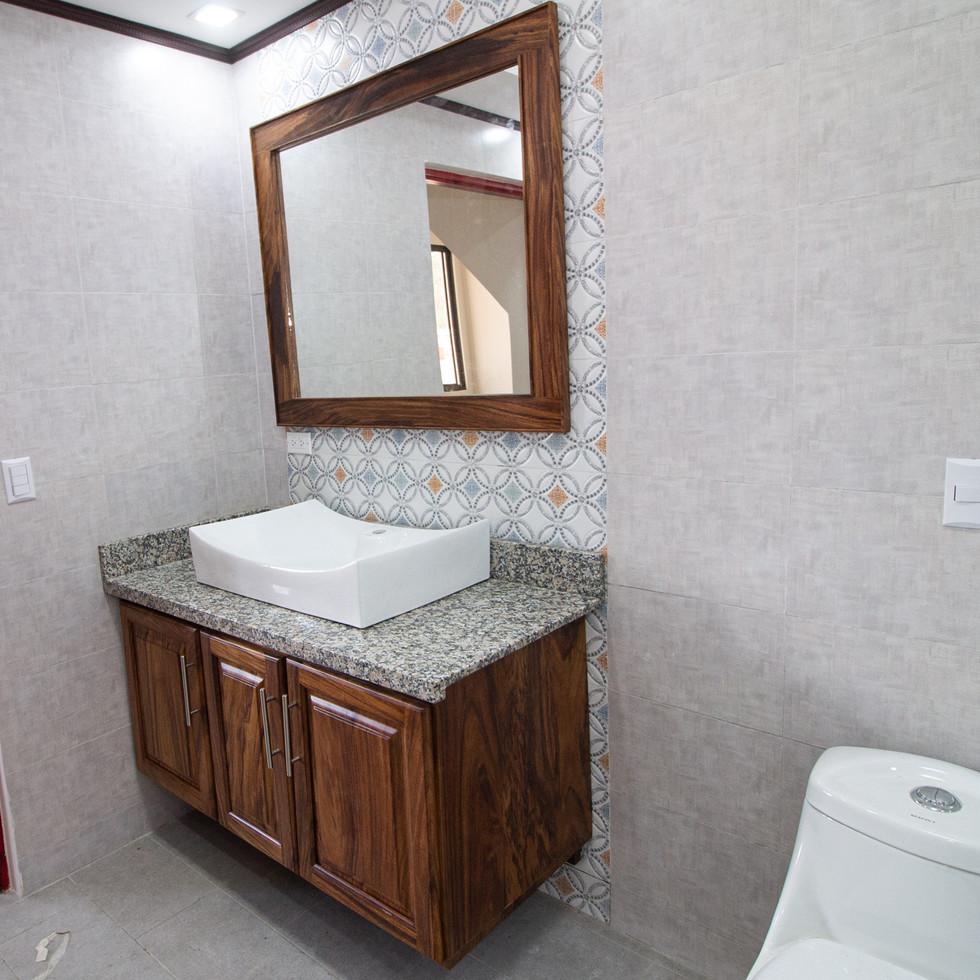 Mueble para baño - Proyecto Milton y Liliana .