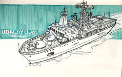 Udaloy Class Ship