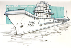 Chinese Naval Ship