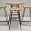 Thumbnail: SET : Eternity Bar table and 4 Bar stools