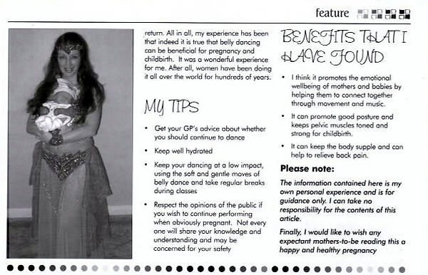 Belly Dance Through Pregnancy Mosaic Magazine