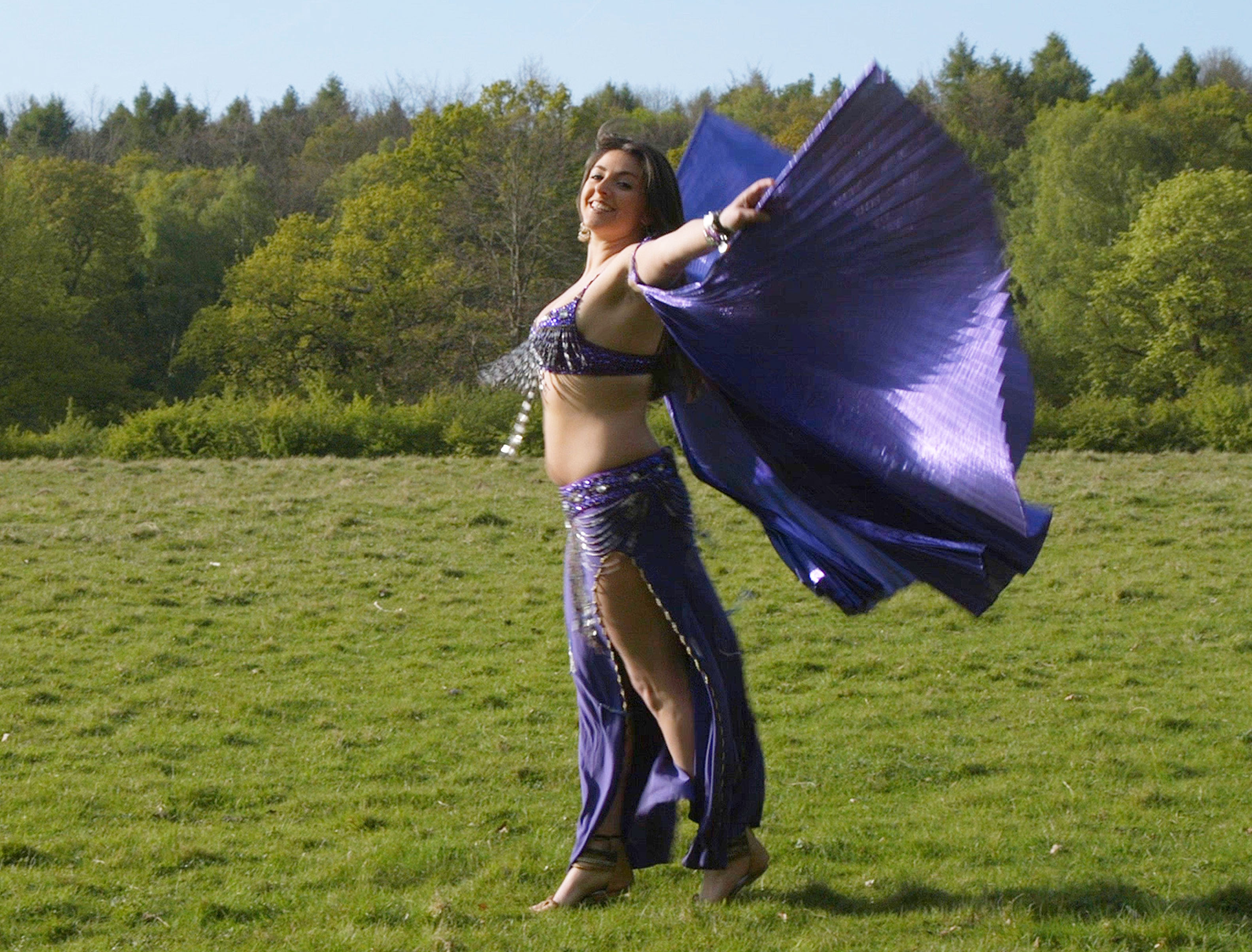 Belly Dance in Nature