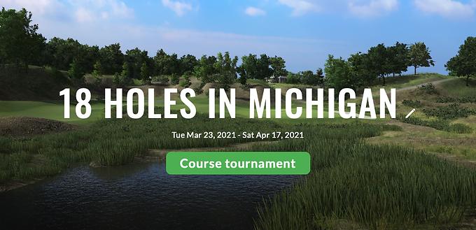 18 Holes in Michigan