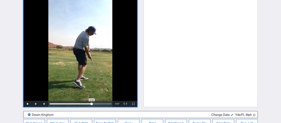 Check Out How Robin Rosado Helped Me Understand Posture and Its Effect on Attack Angle With TrackMan