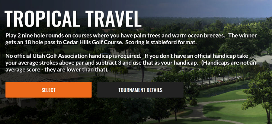 February Fun - 2 Tournaments with No Cost and No Official Handicap Needed