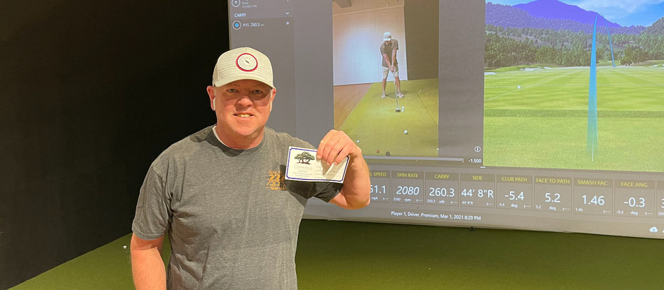 Shawn Chipman Hits Driver 40 Yards Longer and Wins a Prize