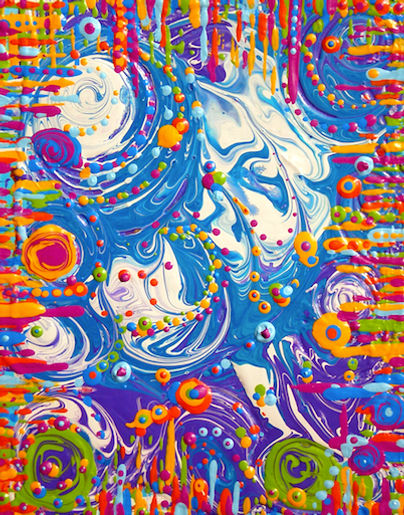 Rikki-Jean Art Acrylic Painting