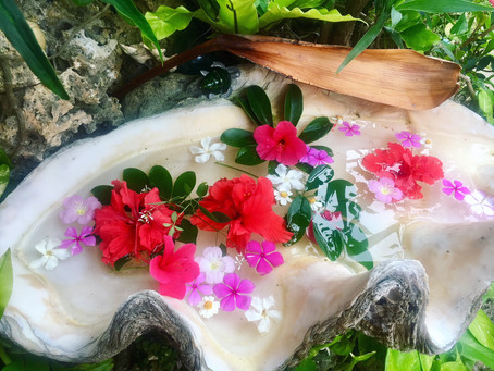Okinawa water ritual + Ceremony