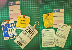 1960's Baggage & Tags