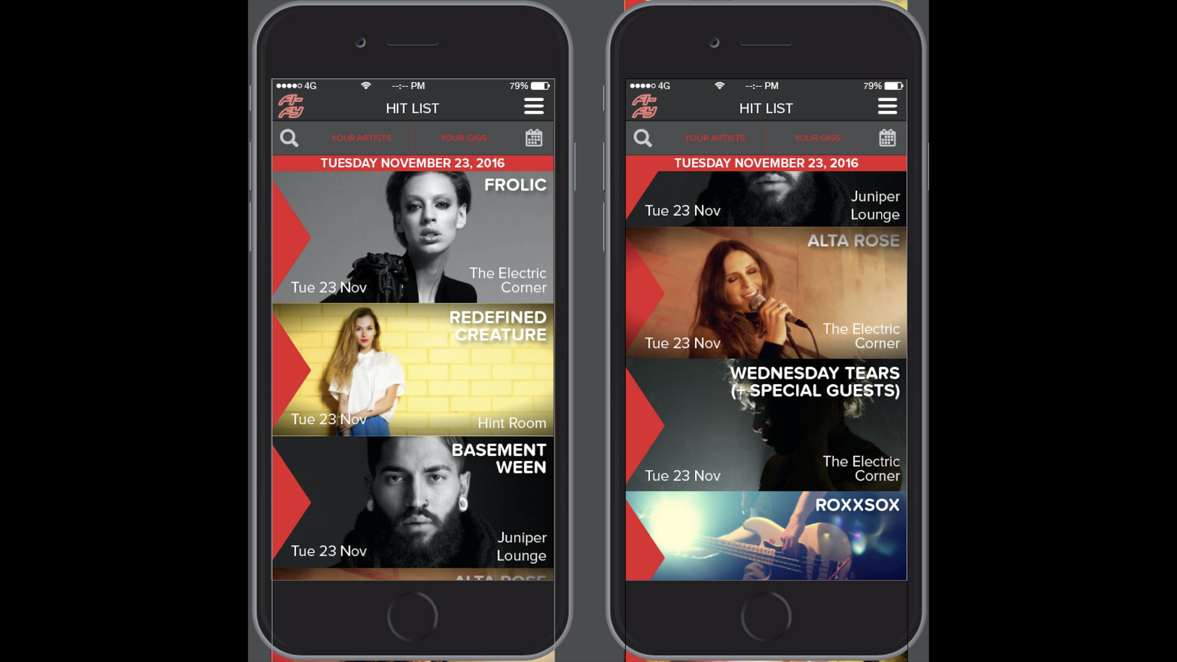 Fi-Fy Mobile App