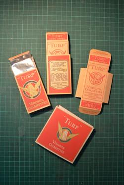 1920's Turf Cigarette Packs