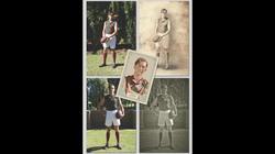 Various 1920's Footy Photographs
