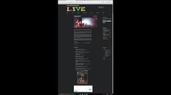 Music Blog Site