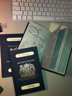 1960's English Passport