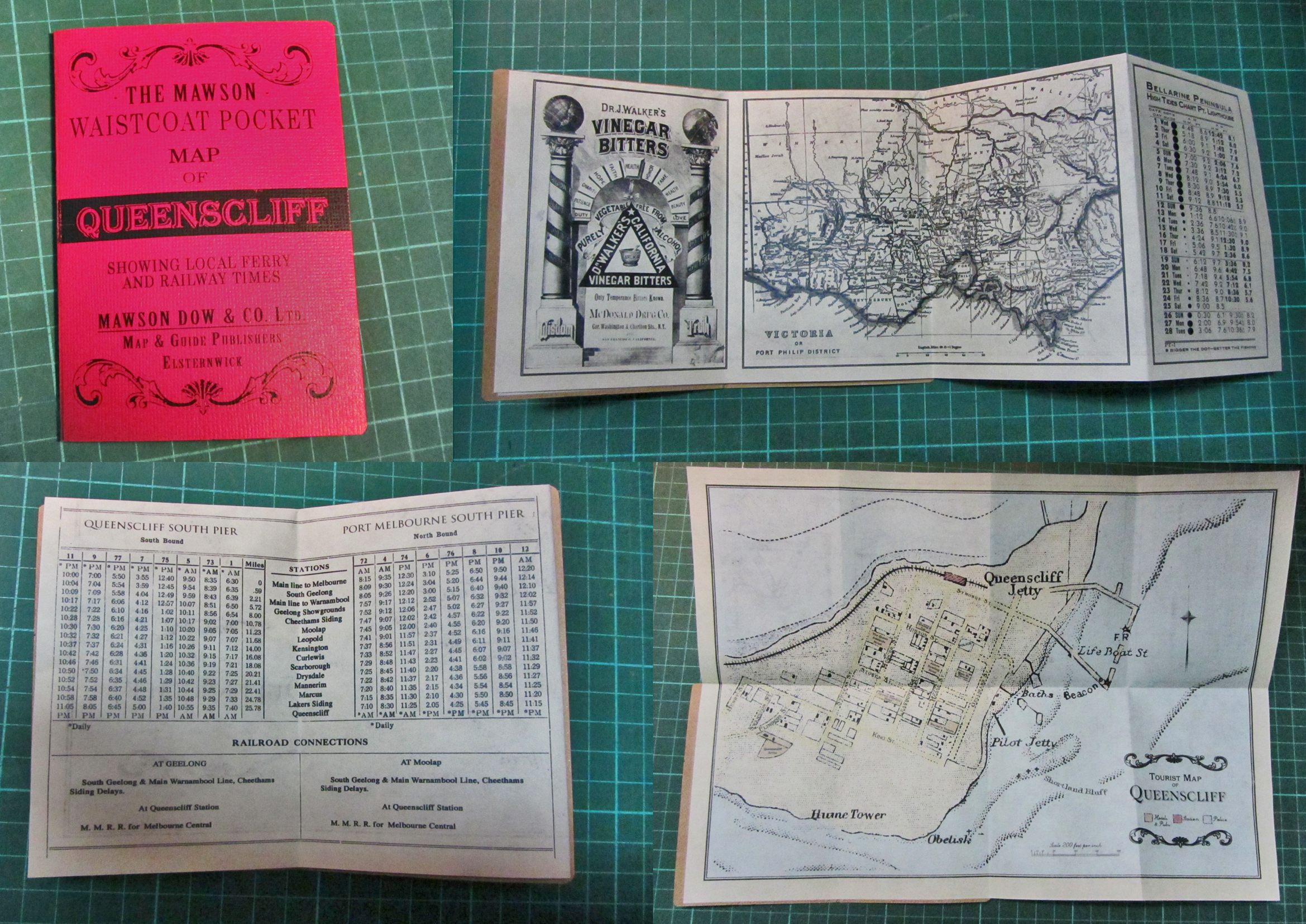1920's Ferry Crossing Pocket Guide