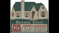 1920's Real Estate Sign