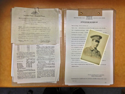 1920's Military File