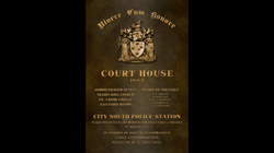 1920's Court House Sign