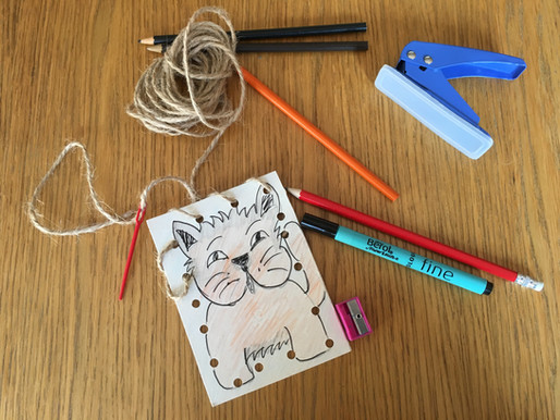 Top Tip Tuesday- Sewing cards to develop fine motor skills and enable children's writing